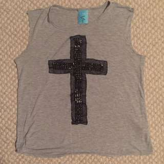 EUC Studded Cross Tank (M)