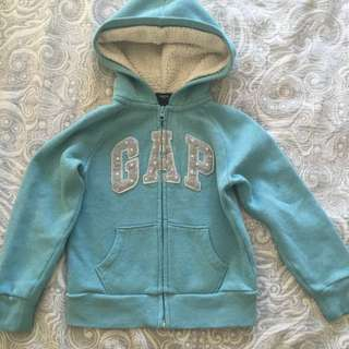 Girls Gap Blue Sweater Size 6-7 Years