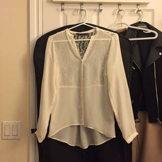 Zara Lace Blouse (XS)