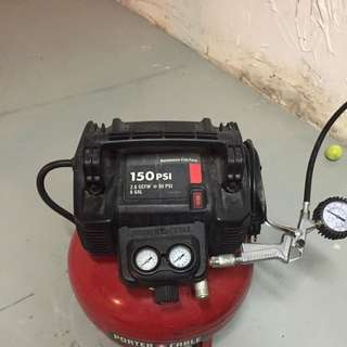 Compressor And Trouble Light