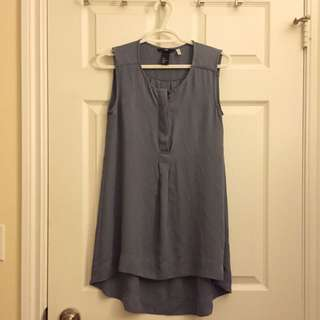 H&M Sleeveless Drape Top (size 4)