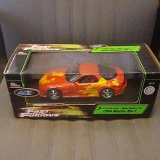 2 Fast 2 Furious Mazda Rx7