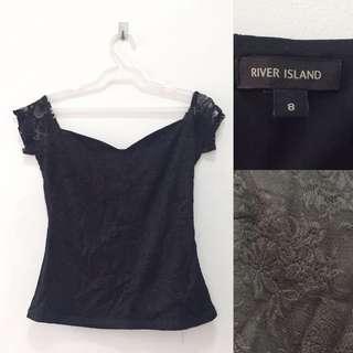Authentic River Island Black Top