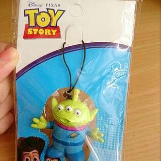 日本迪士尼 三眼怪吊飾