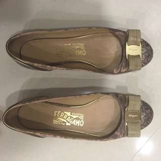 Authentic Ferragamo Flats