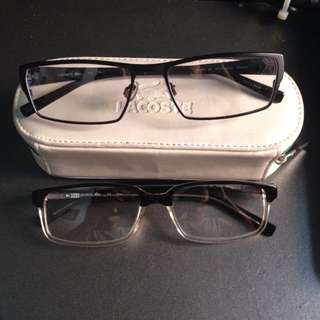 Lacoste Reading Glass