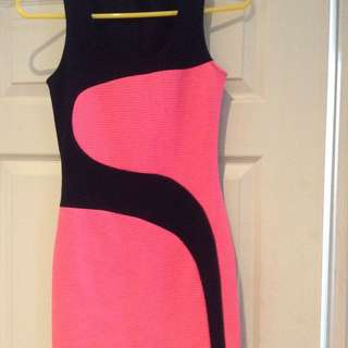 Pink And Black Dress Bought In Nicaragua