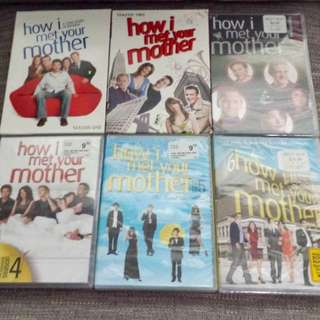 Season 1-6 How I Met Your Mother Tv Series