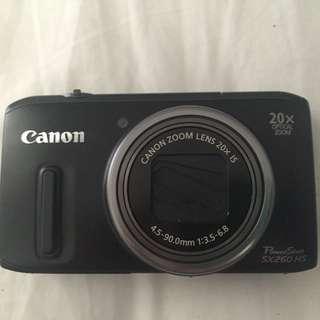 Canon Power shot Camera 20x Optical Zoom