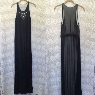 Willow Silk Gown