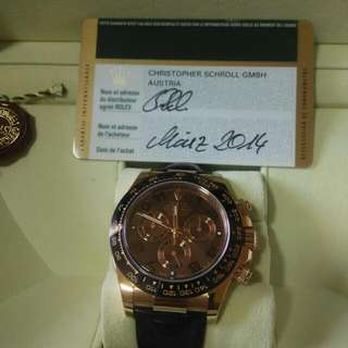 Rolex 116515 Daytona Rose gold