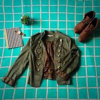 🎀Valleygirl - Military Style Jacket