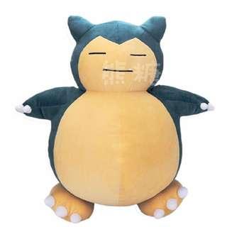 ๑熊糖๑ Pokemon 寵物小精靈 寶可夢 口袋妖怪 神奇寶貝 卡比獸 50CM 公仔 玩偶 大抱枕