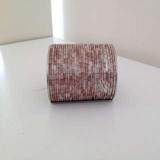 Ladies Pink Bangle/bracelet