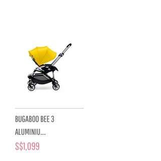 Preloved Bugaboo Bee 3 Pink Stroller ! RESERVED