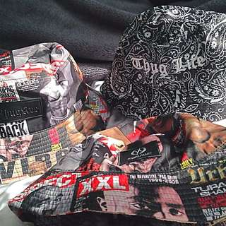 THUG AVE Bucket Hats