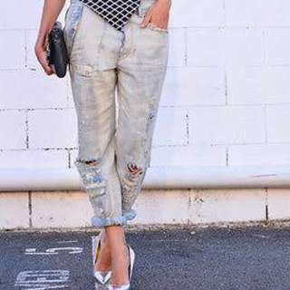 Sass And Bide Love Thy Brother Boyfriend Jeans