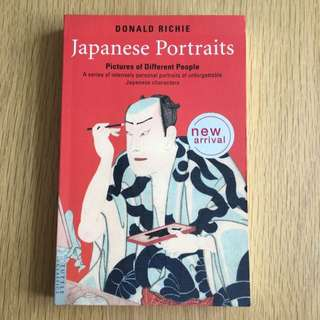 Japanese Portraits By Donald Richie