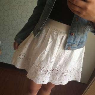 Pazzo布蕾絲褲裙