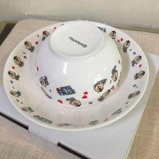W.C熊  Kumatan碗盤組 含運
