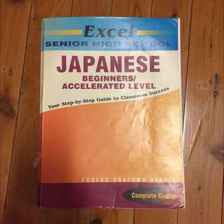 High School Japanese Beginners Textbook