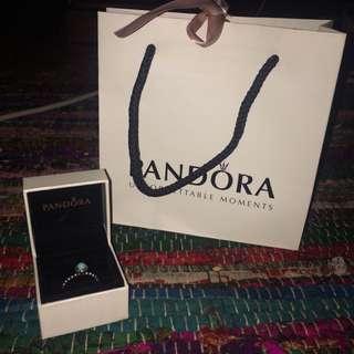 Birthstone Pandora Ring