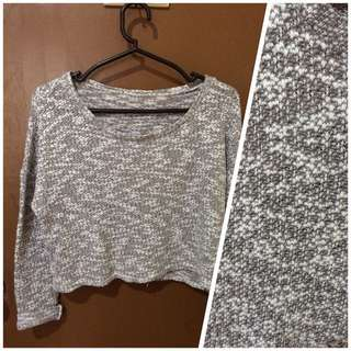 cropped pull over