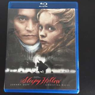 Sleepy Hollow blu ray
