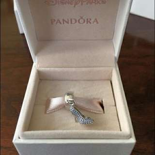Authentic Pandora Cinderella Shoe Charm