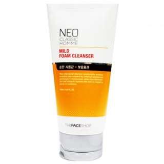 Face Shop Mild Foam Cleanser