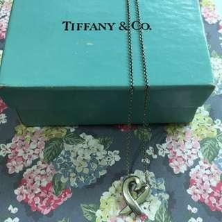 Tiffany畢卡索項鍊(待匯款)