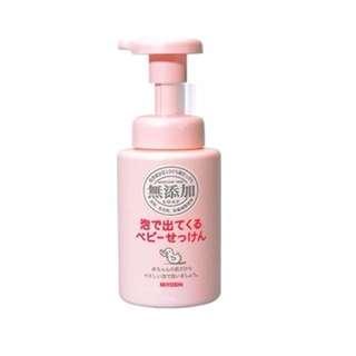 日本 MIYOSHI 無添加嬰幼兒泡沫沐浴乳 250mL