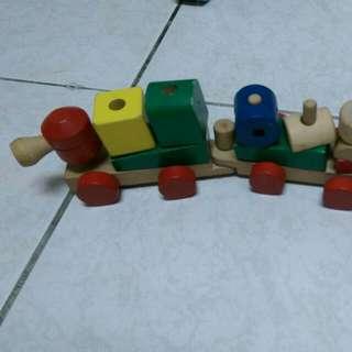 (含運)二手火車積木組