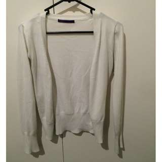 Cotton On - White Cardigan