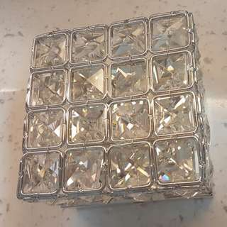 Crystal / Diamond Square Light
