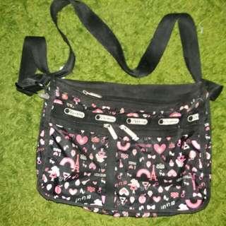 LESPORTAC bag i love paris ( used )