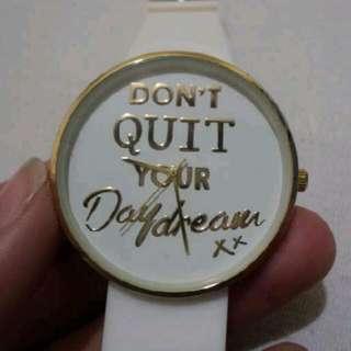 "Lovisa Watch ""Don't Quit Your Day Dream"