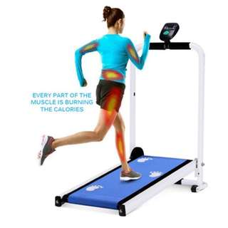 Mini Manual foldable treadmill