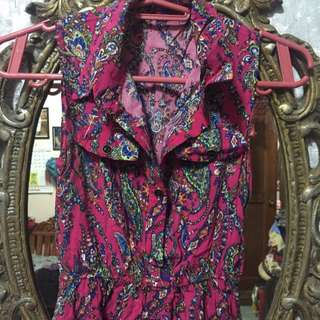 High Low Pink Dress