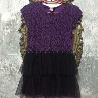Violet Dress for Kids
