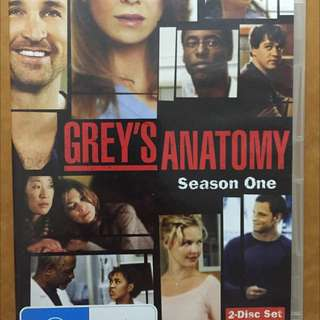 Greys Anatomy Season 1 Dvd