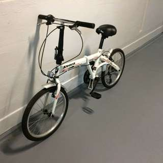 Reserved. 6 Speed Foldable Bicycle