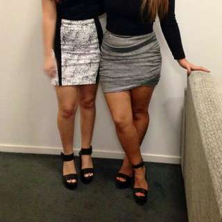 Camilla&Marc Skirt Size 10-12 (skirt on the right)