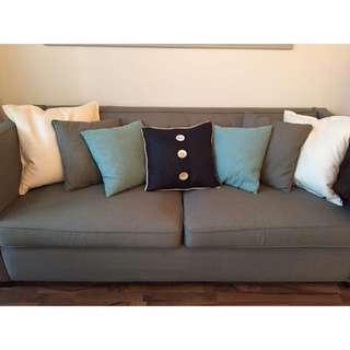 Grey Couch (Condo Friendly)