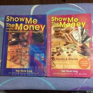 Show Me The Money Volume 1 and 2 by Teh Hooi Leng