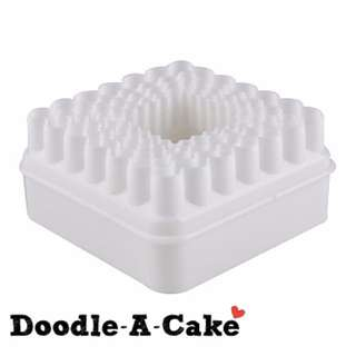 Fluted & Non-Fluted Square Shape Cutter Set