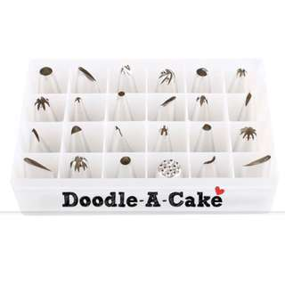24-Piece Piping Nozzle / Tip Set