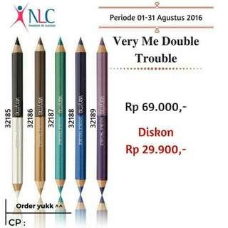 Very Me Double Trouble Eye Pencils
