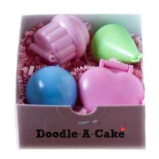 Doodle-A-Cake Cake Pop Set of 4