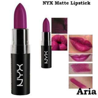Nyx Matte Lipstick (Aria)